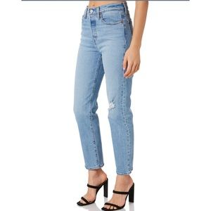Levi's - Wedgie Fit Straight Jeans - Tango Blue